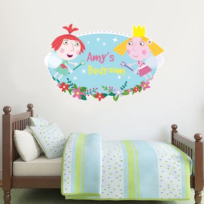 Ben & Holly's Little Kingdom: Holly And Strawberry Personalised Wall Sticker