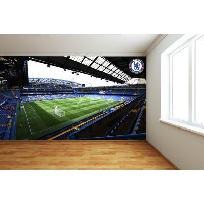 Chelsea FC - Stamford Bridge Stadium Full Wall Mural - Inside Day Time