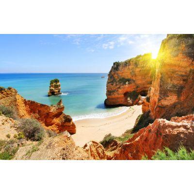 Cliffs on Beach Wall Mural