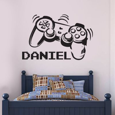 Gaming Controller Personalised Name Wall Sticker