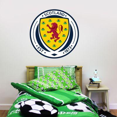 Scotland National Team - Crest Wall Sticker + Decal Set