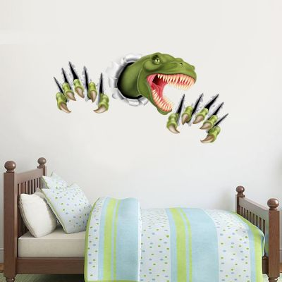 Dinosaur Wall Sticker Ripped Claws