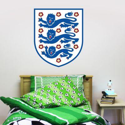 England National Football Team Crest Wall Sticker