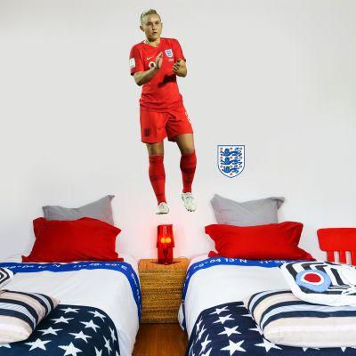 Izzy Christiansen Player Wall Sticker+ Bonus England Sticker Set