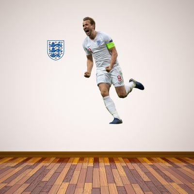 Harry Kane Wall Sticker+ Bonus England Sticker Set