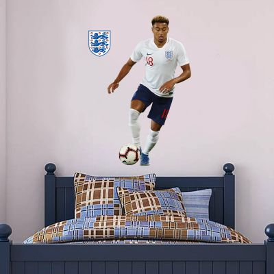 Jesse Lingard Player Wall Sticker+ Bonus England Sticker Set