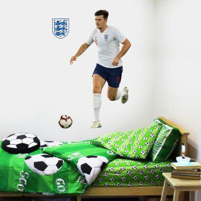 Harry Maguire Player Wall Sticker+ Bonus England Sticker Set