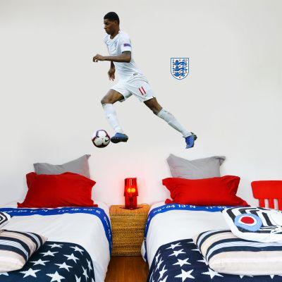 Marcus Rashford Player Wall Sticker+ Bonus England Sticker Set
