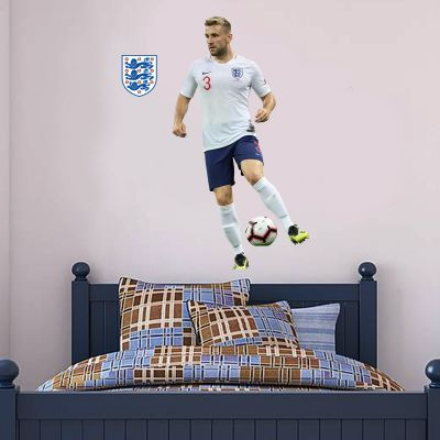 Luke Shaw Player Wall Sticker+ Bonus England Sticker Set