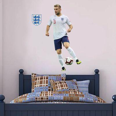 Luke Shaw Player Wall Sticker+ Bonus England Sticker Set
