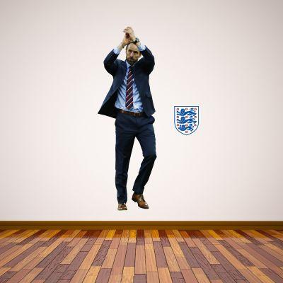 Gareth Southgate Manager Wall Sticker + Bonus England Stickers