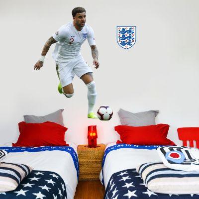 Kyle Walker Player Wall Sticker+ Bonus England Sticker Set