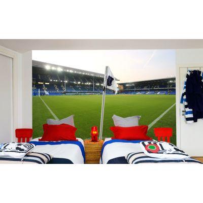 Everton FC - Goodison Park Stadium Full Wall Mural Corner Flag Picture