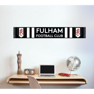 Fulham F.C. - Scarf Design Wall Sticker