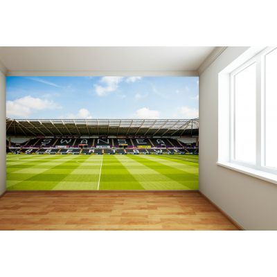 Swansea City FC - Liberty Stadium Full Wall Mural Stadium From Centre