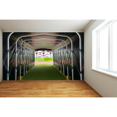 West Ham United FC - London Stadium Full Wall Mural Tunnel Picture