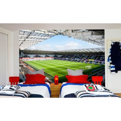 Swansea City FC - Liberty Stadium Full Wall Mural Stadium From Corner