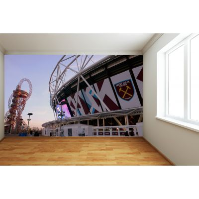 West Ham United FC - London Stadium Full Wall Mural Outside Stadium