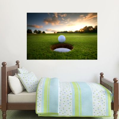 Hole In One Wall Sticker