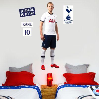 Tottenham Hotspur FC - Harry Kane Player Wall Mural + Spurs Wall Sticker Set