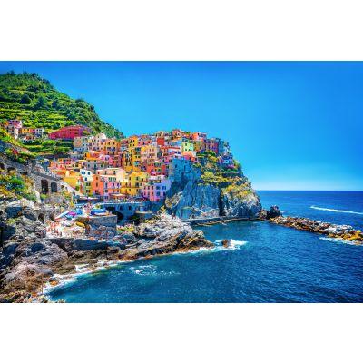 Italian Seaside Town Wall Mural