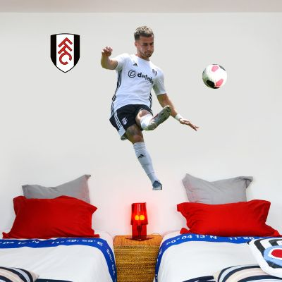 Fulham F.C. - Joseph Bryan Player Wall Sticker + Bonus Fulham Crest Decal