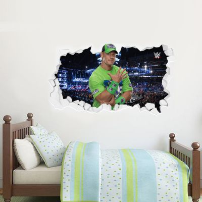 WWE - John Cena Broken Wall Sticker