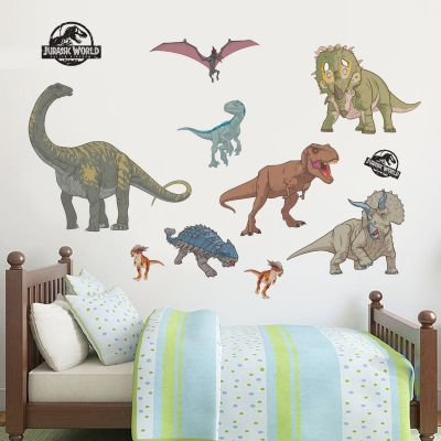 Jurassic World: Fallen Kingdom Dinosaur Wall Sticker Set