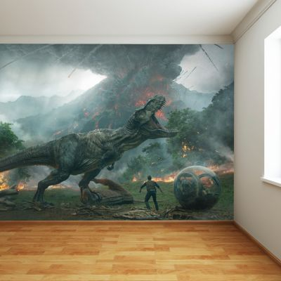 Jurassic World : Fallen Kingdom T-Rex Dinosaur Full Wall Mural
