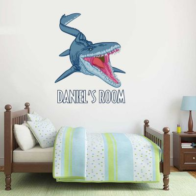 Jurassic World : Fallen Kingdom Mosasaurus Dinosaur Personalised Wall Sticker