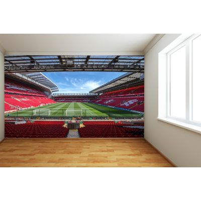 Liverpool FC Anfield Stadium Full Wall Mural - View From The Kop Image