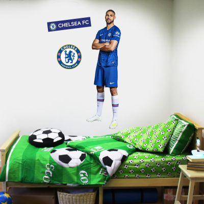 Chelsea FC - Loftus Cheek Player Decal + CFC Wall Sticker Set
