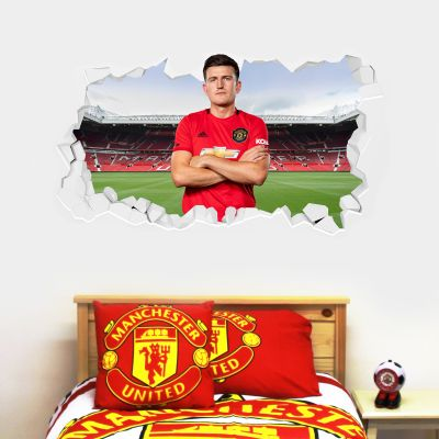 Manchester United F.C. - Harry Maguire Broken Wall Sticker