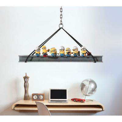 Despicable Me - Minions At Work Wall Sticker