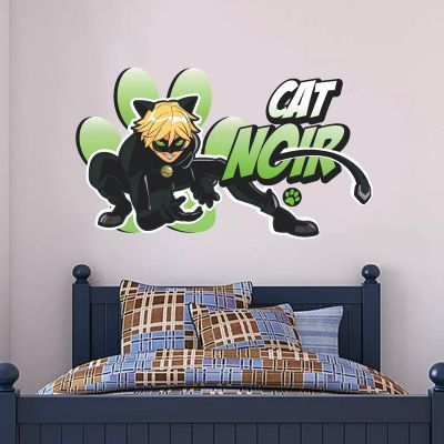 Miraculous - Cat Noir Wall Sticker