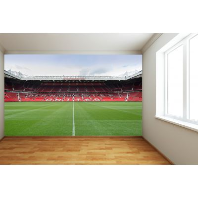 Manchester United Old Trafford Stadium Full Wall Mural - North Stand View