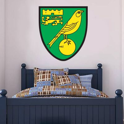 Norwich City FC - Club Badge Wall Sticker