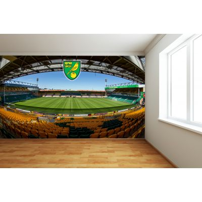 Norwich City FC - Carrow Road (Full Wall) Mural