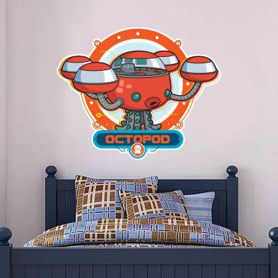 Octonauts Octopod Cut Out Wall Sticker Mural