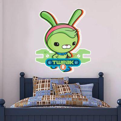 Octonauts Tweak Bunny Cut Out Wall Sticker Mural