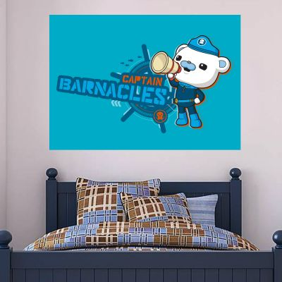 Octonauts Captain Barnacles Bear Wall Sticker Mural