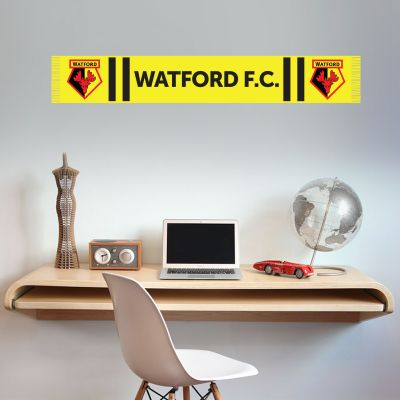 Watford FC - Bar Scarf Wall Sticker