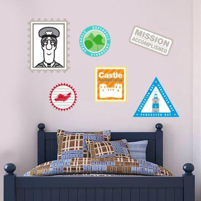 Postman Pat - Stamp Wall Sticker Set