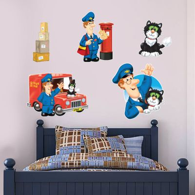 Postman Pat - Special Delivery Service Wall Sticker Set