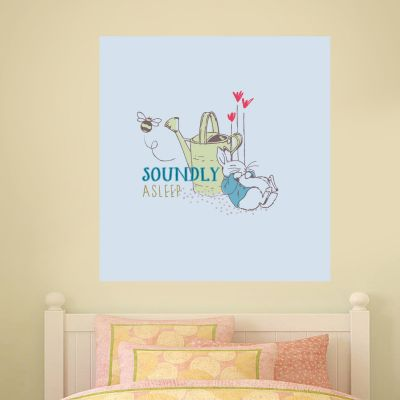 Peter Rabbit Soundly Asleep Wall Sticker Mural