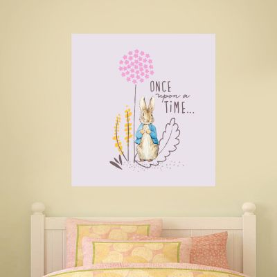Peter Rabbit Dandelion Once Upon A Time Wall Sticker Mural