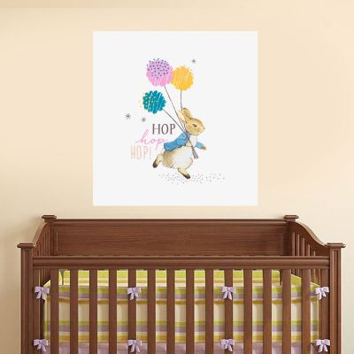 Peter Rabbit Hop Hop Hop Wall Sticker Mural