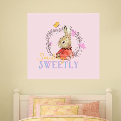 Peter Rabbit Smiling Sweetly Wall Sticker Mural