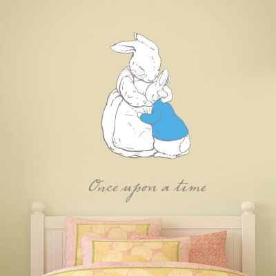Peter Rabbit Once Upon A Time Josephine and Peter Wall Sticker Mural