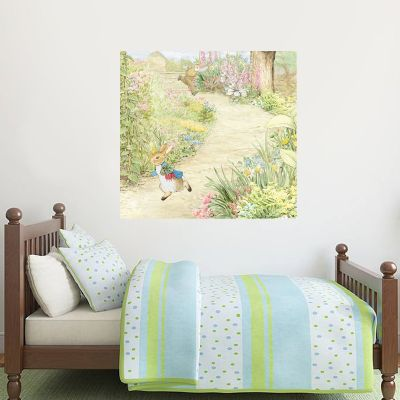 Peter Rabbit Farmer Chase Wall Sticker Mural